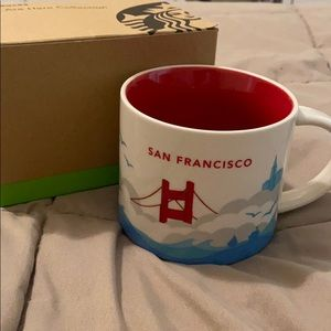 Starbucks You Are Here mug San Francisco